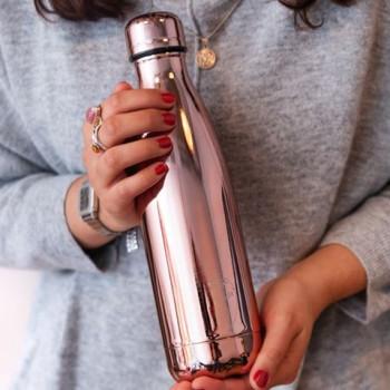 Chilly's Bottle Thermosfles Rosé Gold voor warm en koud