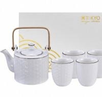 Luxe theeservies Nippon White