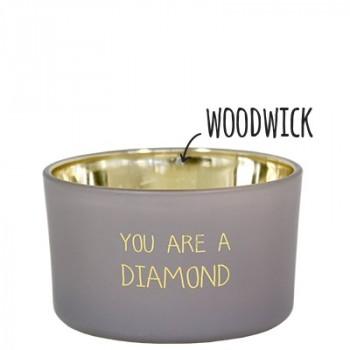 Soja Geurkaars You Are a Diamond